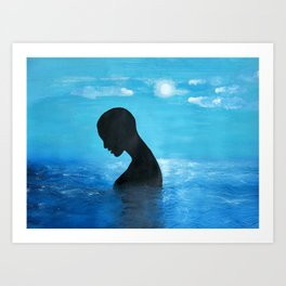 WHEN ALL IS ONE Art Print