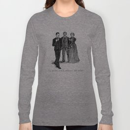 Not a plotdevice Long Sleeve T-shirt