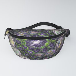 Jeweled Forest Spirals Fanny Pack