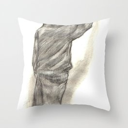 Catchin' tags two Throw Pillow