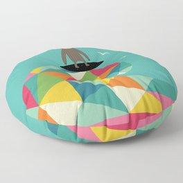 Surfs Up Floor Pillow
