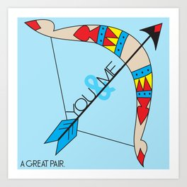 A Great Pair Art Print