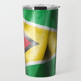 Guyana Flag Travel Mug