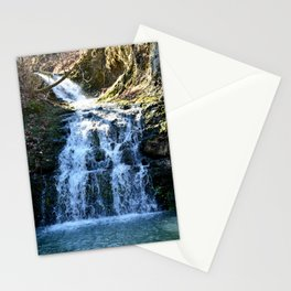 Alone in Secret Hollow with the Caves, Cascades, and Critters, No. 5 of 21 Stationery Cards