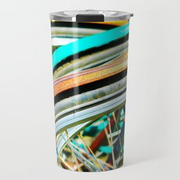 Spokes of Glitter Travel Mug