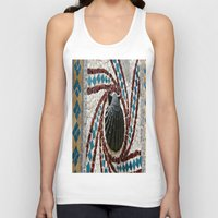 shell Tank Tops featuring Shell by Photaugraffiti