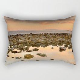 Spain, Africa and Gibraltar in one shot Rectangular Pillow
