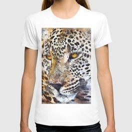 Leopard Wild Portrait T-shirt
