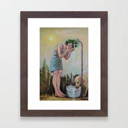 thirst Framed Art Print