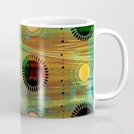 Sunburst Discs of Joy Coffee Mug