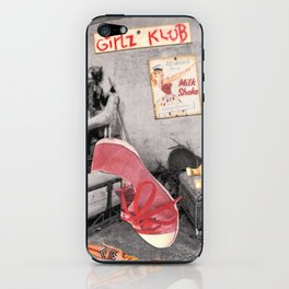 Girlz Klub iPhone Skin