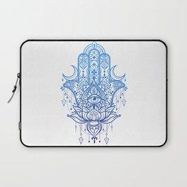 Hamsa Lotus Hand Laptop Sleeve