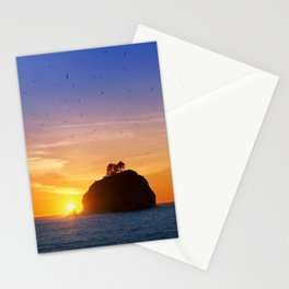 Sunset at First Beach - La Push .3 Stationery Cards