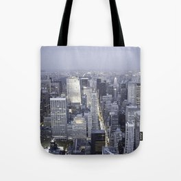 NYC from Empire State Building Tote Bag