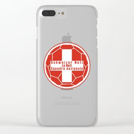 Switzerland Schweizer Nati, La Nati, Squadra nazionale ~Group E~ Clear iPhone Case