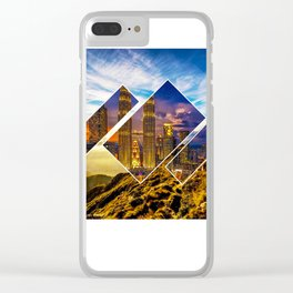 2 in 1 Clear iPhone Case