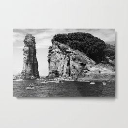 Cliff Diving event Metal Print