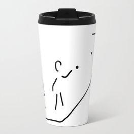boule petanque boules boccia player Travel Mug