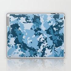 blue fir camo Laptop & iPad Skin