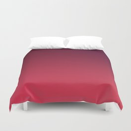 OUTERSPACE - Minimal Plain Soft Mood Color Blend Prints Duvet Cover