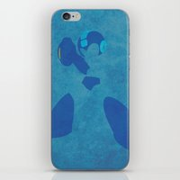 megaman iPhone & iPod Skins featuring Megaman by JHTY