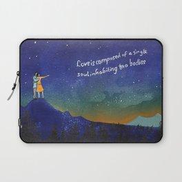 Couple stargazing - written in the stars Laptop Sleeve
