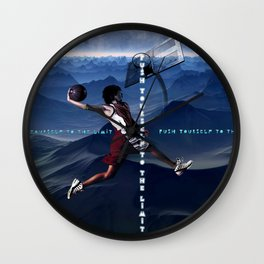 push yourself to the limit Wall Clock