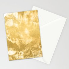 Gold paint Stationery Cards