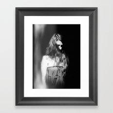 M. Study I Framed Art Print