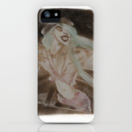 Lady G. iPhone Case