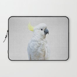 White Cockatoo - Colorful Laptop Sleeve