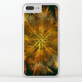 The Majesty Palm Swirl Clear iPhone Case