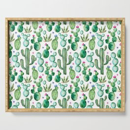 Cactus Oh Cactus Serving Tray