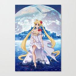 Sailor Moon Crystal Princess Serenity Canvas Print