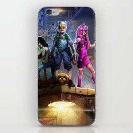 Adventurers iPhone Skin