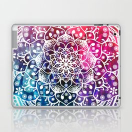 Namaste Red Purple Blue Mandala Laptop & iPad Skin