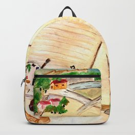 Books and imagination Backpack