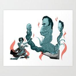 Demon Summoner Art Print