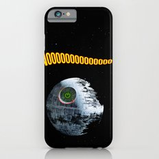 Red ring of Death Star Slim Case iPhone 6s
