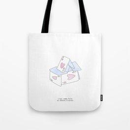 Château d'cartes Tote Bag