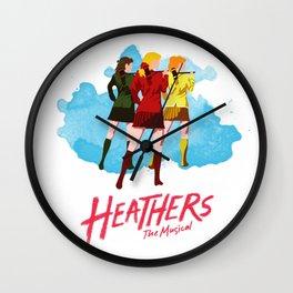 Heathers Minimalist Wall Clock
