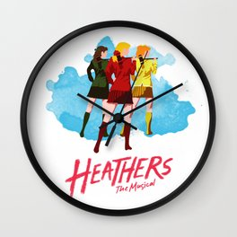 Heathers Minimalist Wall Clock