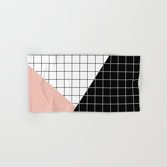 Minimal Geometry Hand & Bath Towel