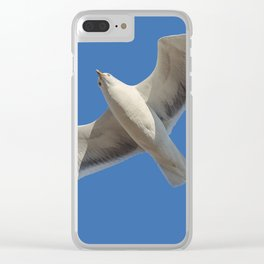 Suddenly Seagull Clear iPhone Case