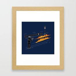 Perfect Crime Framed Art Print