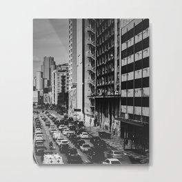 Selva de Pedra - SP, Brasil Metal Print