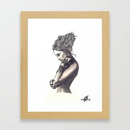 Pia Framed Art Print