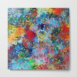 Floral Abstract 39 Metal Print