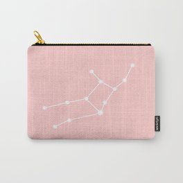 Virgo Star Sign Soft Pink Carry-All Pouch