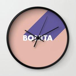 BONITA Blooming Dahlia Wall Clock